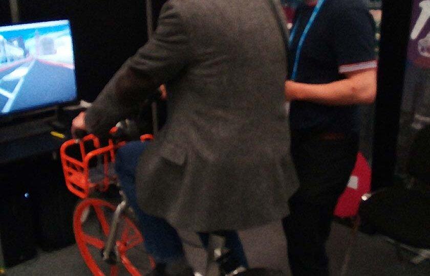 VR Bike ride