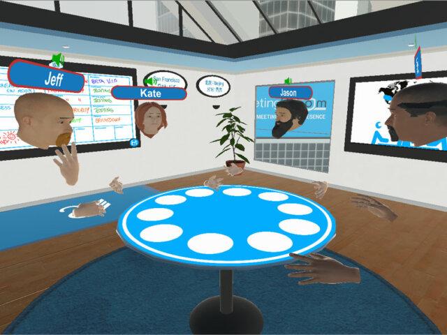 VR communications